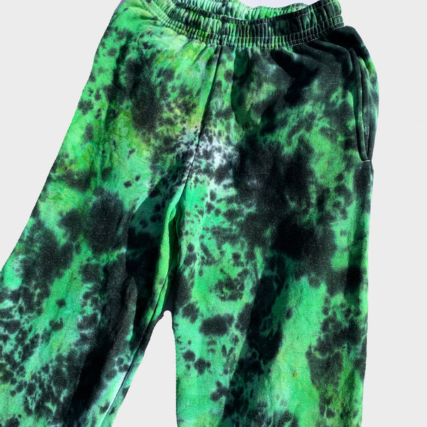 Green/Black Tie Dye Set