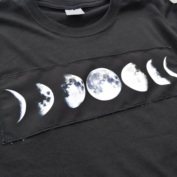Moon Cycle Patch T-shirt