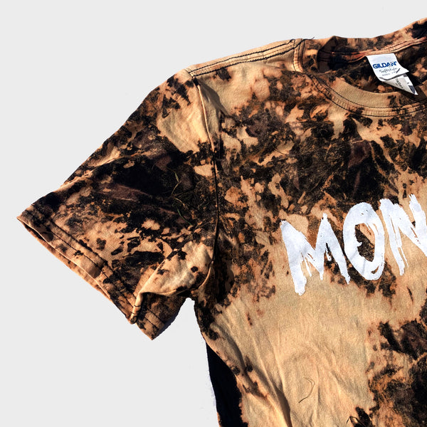 Monster Acid Burned Tie Dye T-shirt