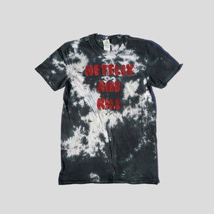 Netflix and Kill Grey Tie Dye T-shirt