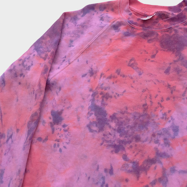 Pink/Purple Tie Dye Sweatshirt