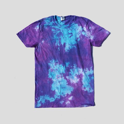 Purple/Blue Tie Dye T-shirt