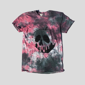 Poison Apple Red/Black Tie Dye T-shirt