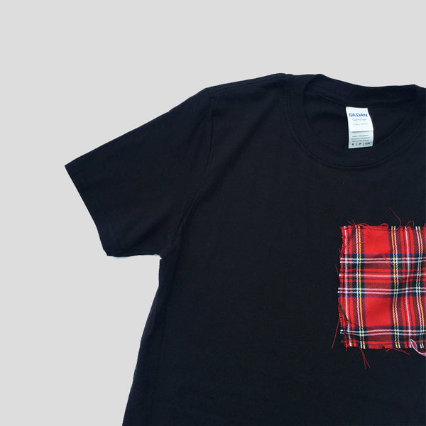 Red Asymetric T-shirt