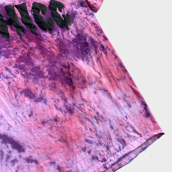 Thicc Pink/Purple Tie Dye T-shirt