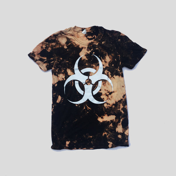 Toxic Acid Burned Tie Dye T-shirt