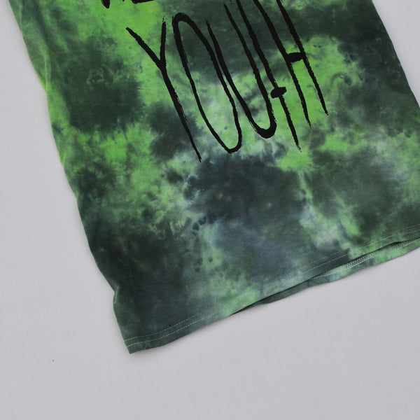 Wasted Youth Green/Black Tie Dye T-shirt
