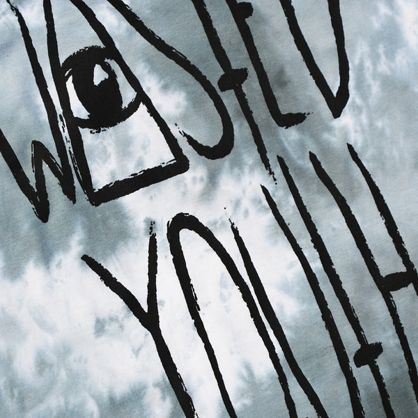 Wasted Youth Grey Tie Dye T-shirt