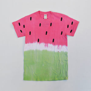 Watermelon Red/Green Tie Dye T-shirt
