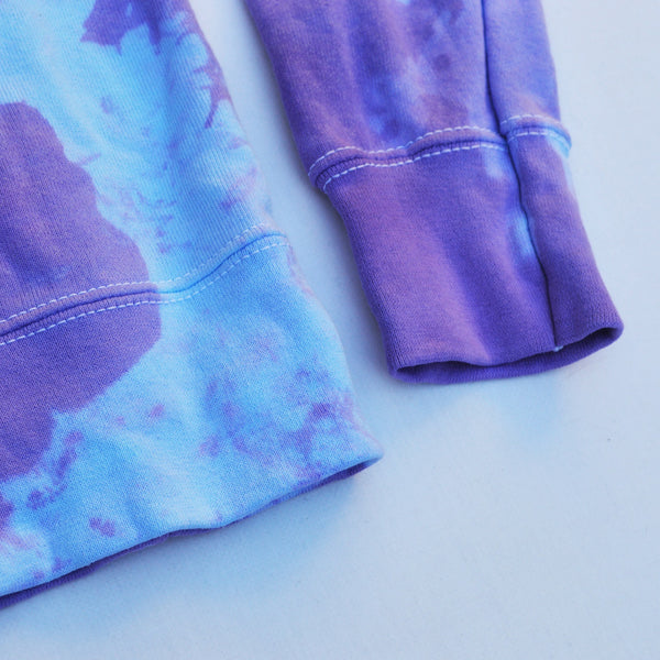 Witchcraft Purple/Blue Tie Dye Sweatshirt