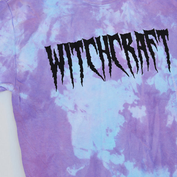Witchcraft Purple/Blue Tie Dye T-shirt