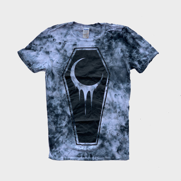 Crescent Coffin Grey Tie Dye T-shirt