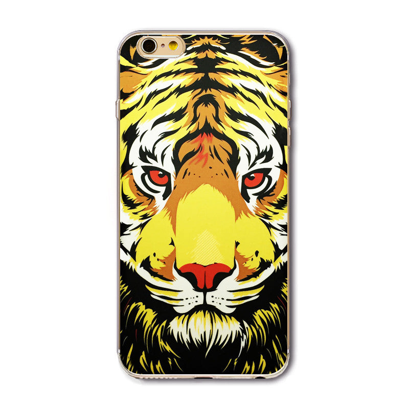 Abstract Lion   Tiger iPhone Case – Callipygian Trading Company 67ea721a0