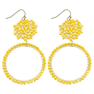 Yellow/Gold Earring
