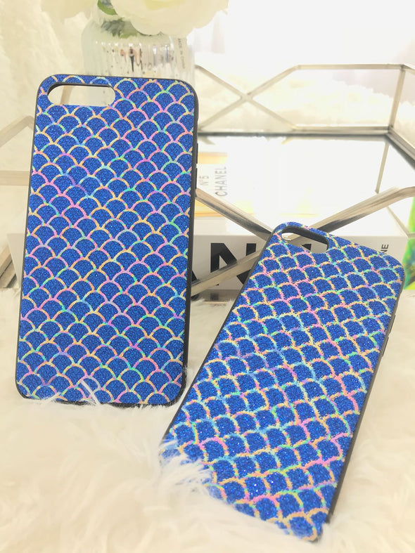 Mermaid Blue Iphone Cover