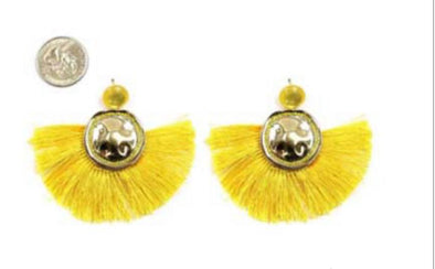 Earring Yellow/Gold