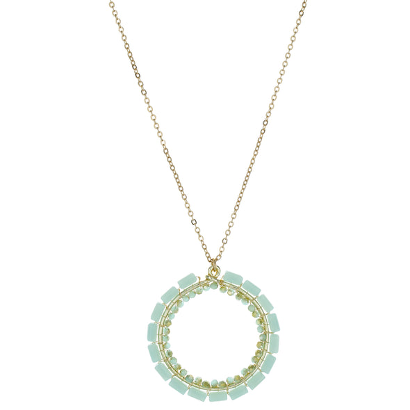 Necklace Baby Blue