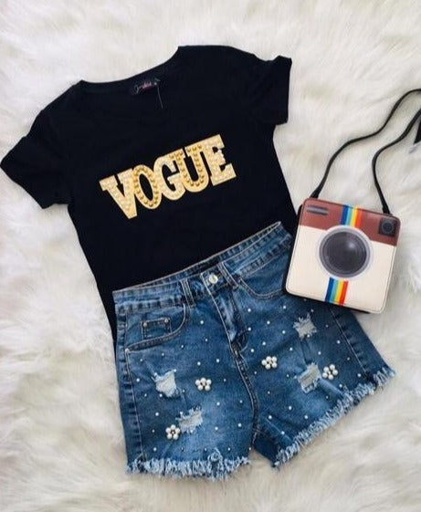 Pearl Vogue Tee