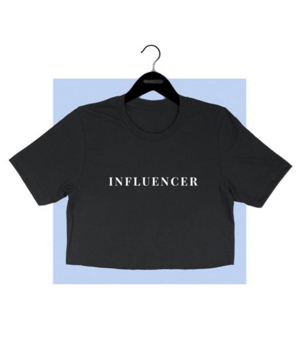 INFLUENCER CROP TEE