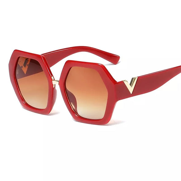 POLYGONAL FASHION SUNGLASSES