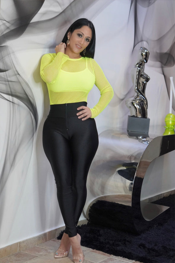SATIN LEGGINS SOLID