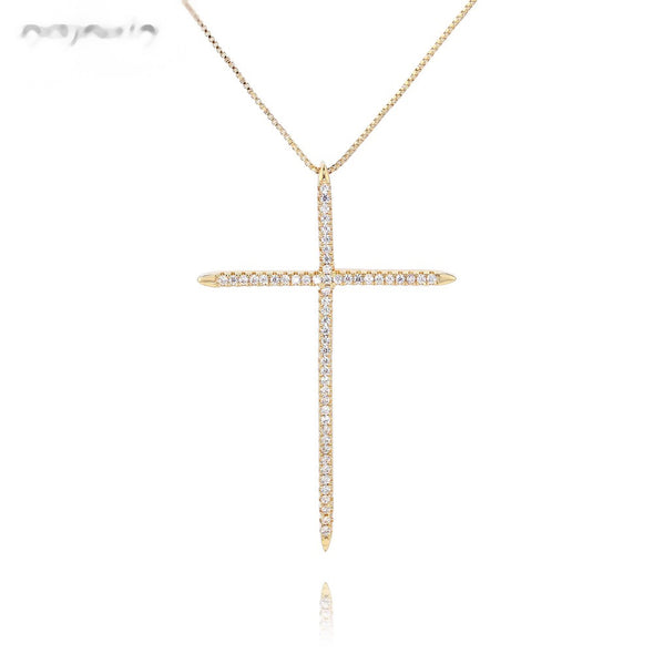 GOLD CROSS GLITTER