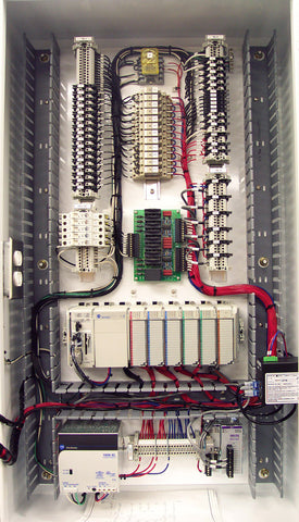 Rubber Baler Control Panel