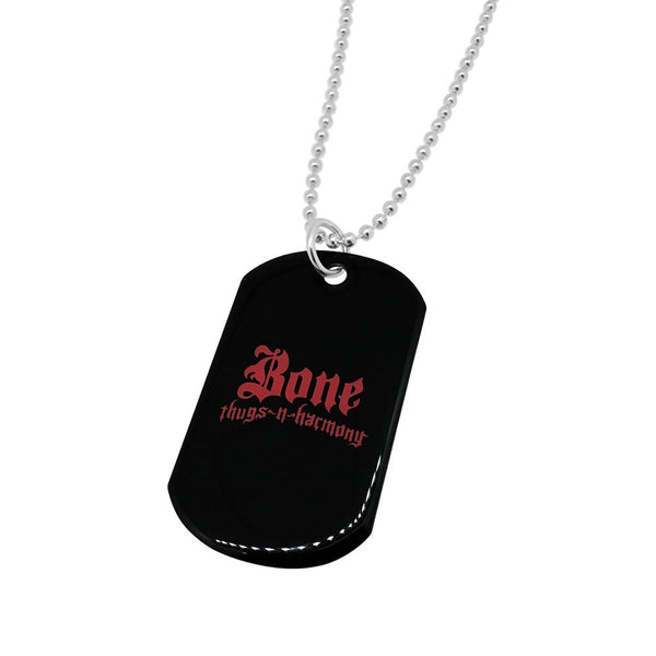 Bone Thugs n Harmony Red Logo Dog Tag - LayzieGear.com