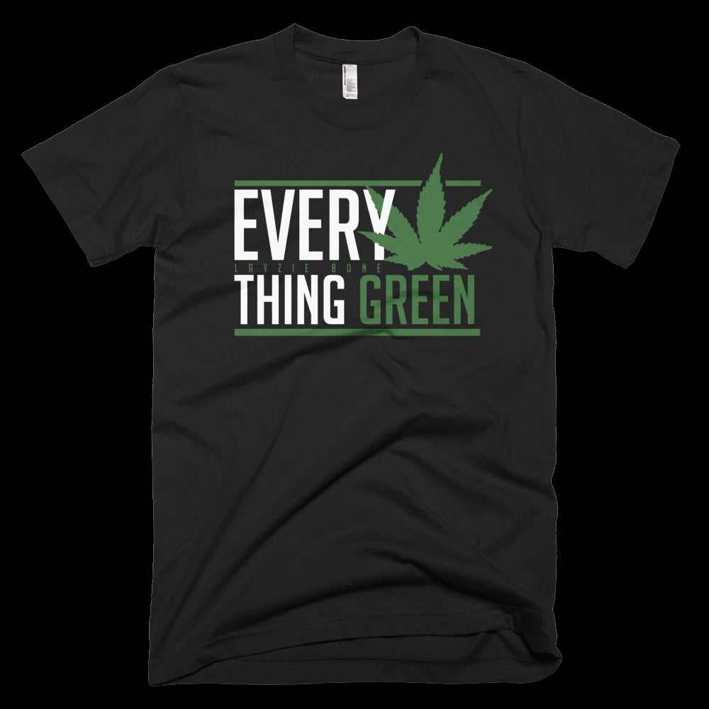 Everything Green Layzie Bone Gear T-Shirt Bone Thugs n harmony