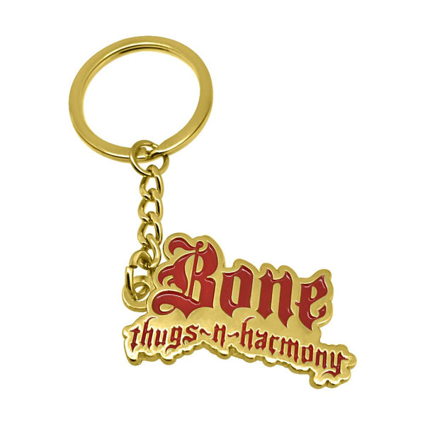 Bone Thugs n Harmony KeyChain Red / Gold - LayzieGear.com