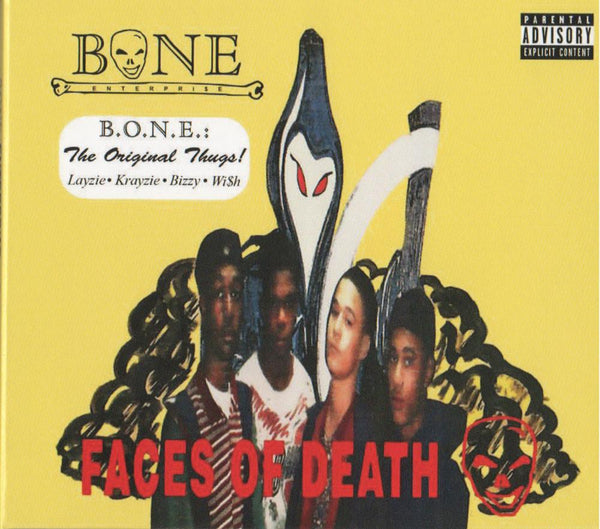 "B.O.N.E. Enterpri$e ""Faces of Death"" Digitally Remastered CD - LayzieGear.com"