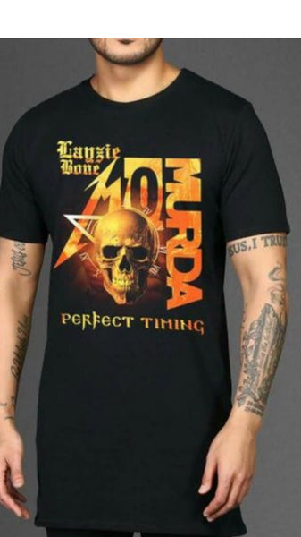 Layzie Bone: Perfect Timing - Mo Murda T-Shirt - LayzieGear.com