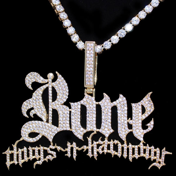 Bone Thugs n Harmony Diamond Pendant