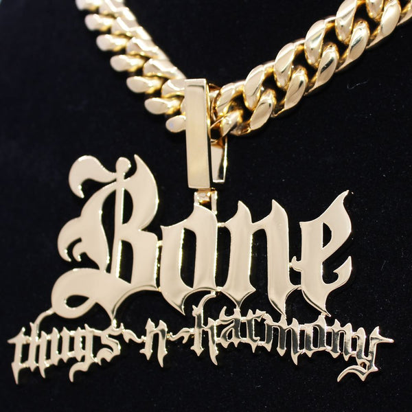 Bone Thugs n Harmony Gold Pendant