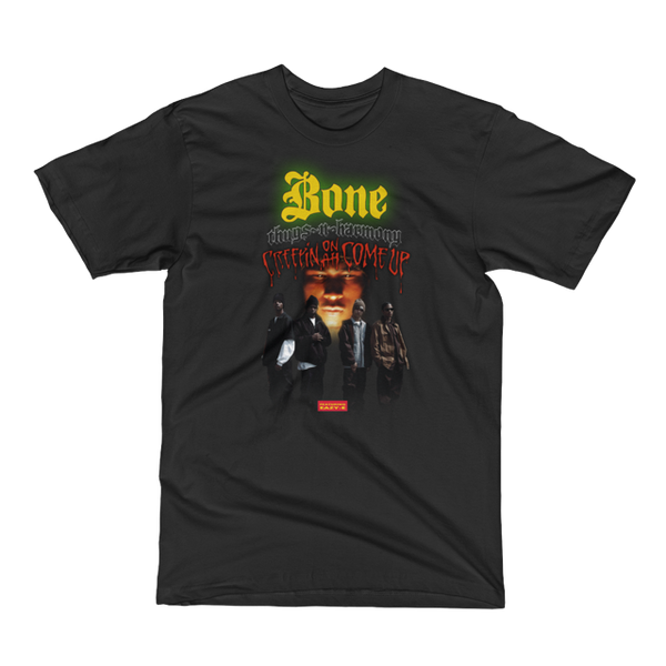 Authentic Bone Thugs n Harmony T-Shirt - Creepin on Ah Come Up