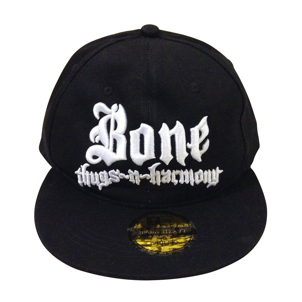 Bone Thugs n Harmony White Logo Black Snapback