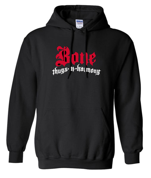 Bone Thugs n Harmony Logo Black Hoodie | Choose Your Color