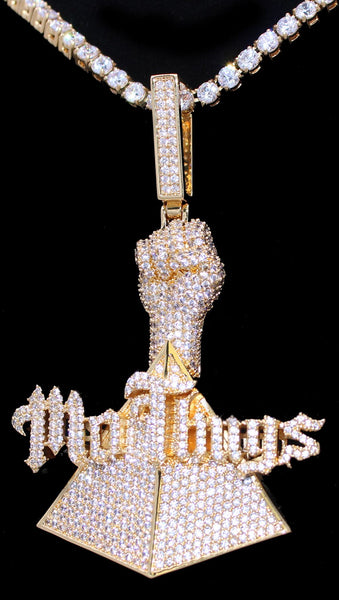 Mo Thugs Gold Diamond Pendant