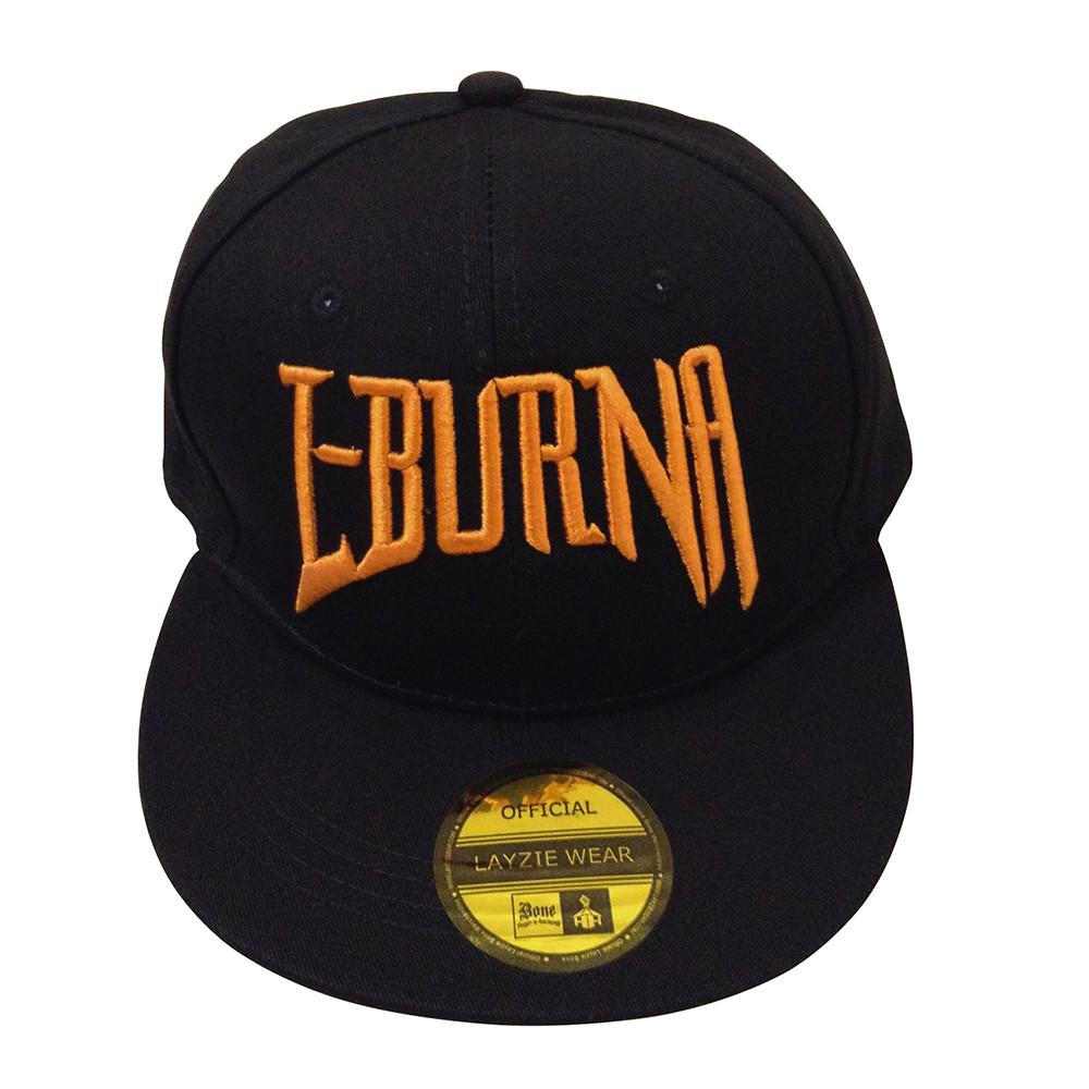 L-Burna Orange Embroidered Snapback - LayzieGear.com