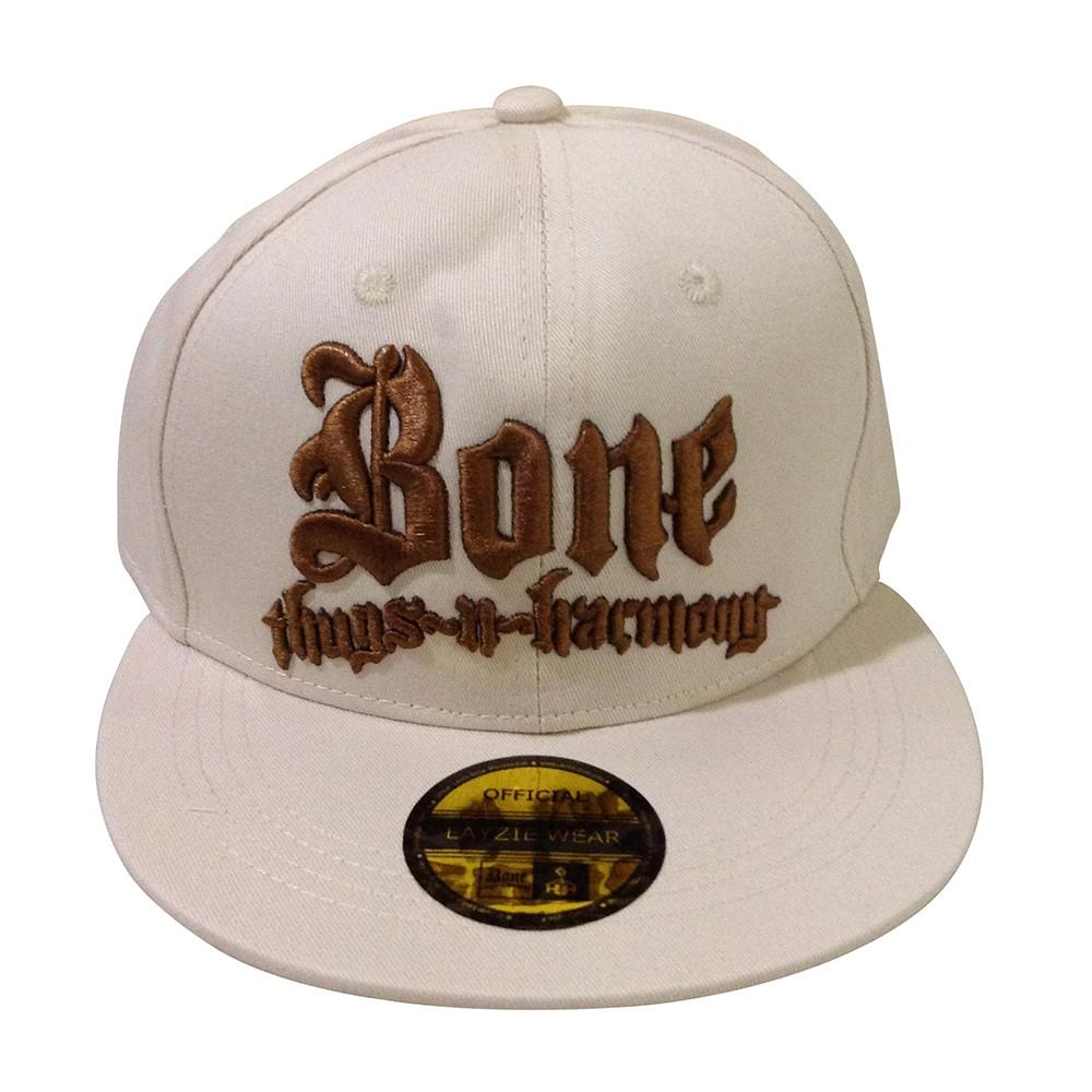Bone Thugs n Harmony Tan Snapback Brown Embroidered Logo - LayzieGear.com
