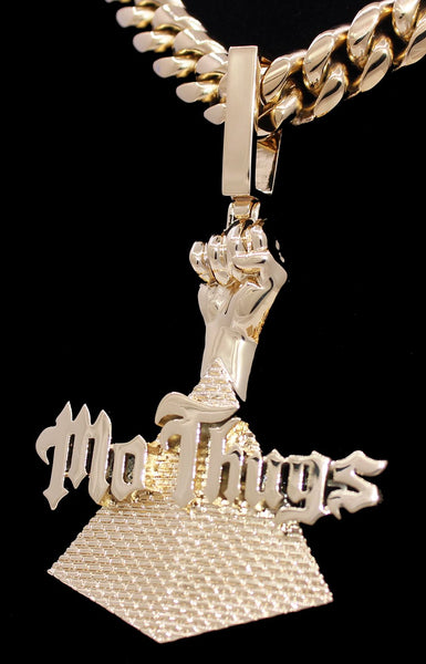 Mo Thugs Gold Pendant Official