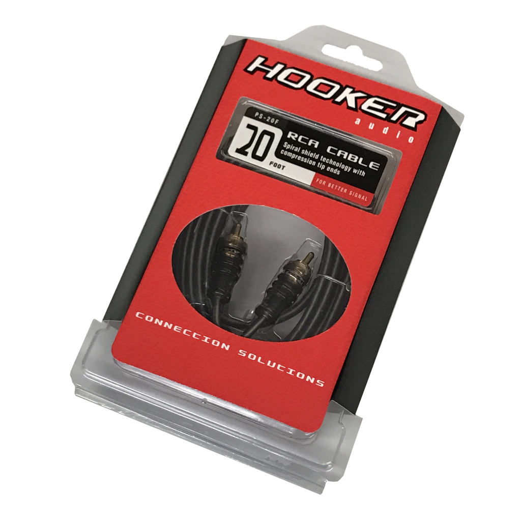 Hooker Audio PS Series 20 Foot RCA