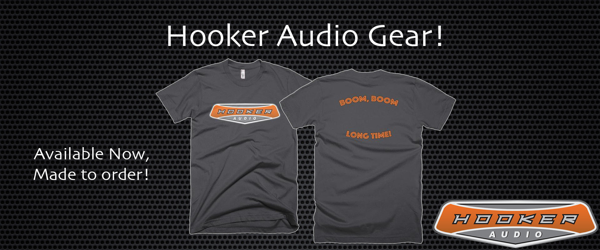 hooker audio gear