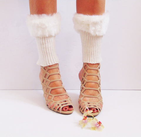 The beauty of boot cuffs and leg warmers