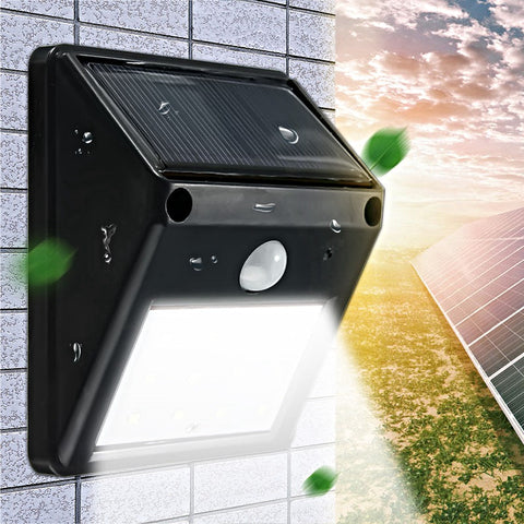 Solar Powered and Wireless PIR Motion Sensor Safety Light