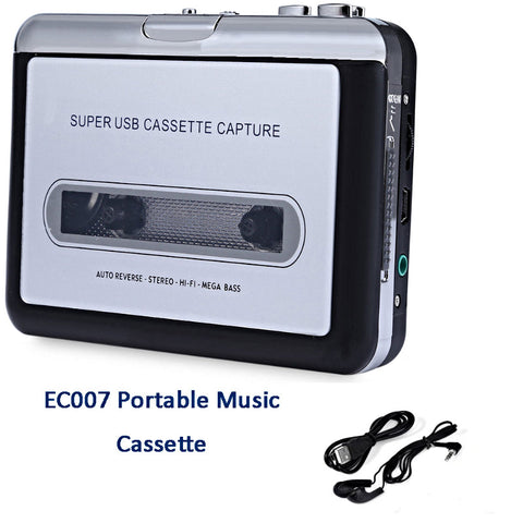 Portable Cassette Tape MP3 Converter