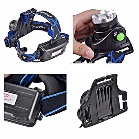 Adjustable & Elastic Head Lamp