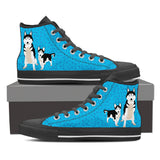 Husky Lovers High Top Sneakers (Men)