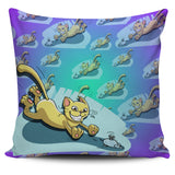 Cat Lovers Pillow Cover
