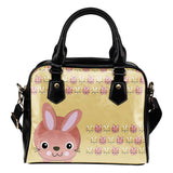 Rabbit Lovers Shoulder Handbag